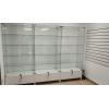 Стеклянная витрина для торговли и выставки