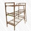Металлические кровати с ДСП спинками для больниц, кровати для гостиниц, кровати для пансионатов.