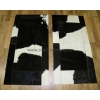 Прикроватные коврики из коровьих шкур