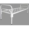 Металлические кровати одноярусные и двухъярусные,  кровати для общежитий,  кровати для больниц,  казарм,  интернатов