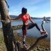 Женские спортивные леггинсы для фитнеса.
