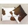 Декоративные подушки из шкур коров,   лисы и чернобурки